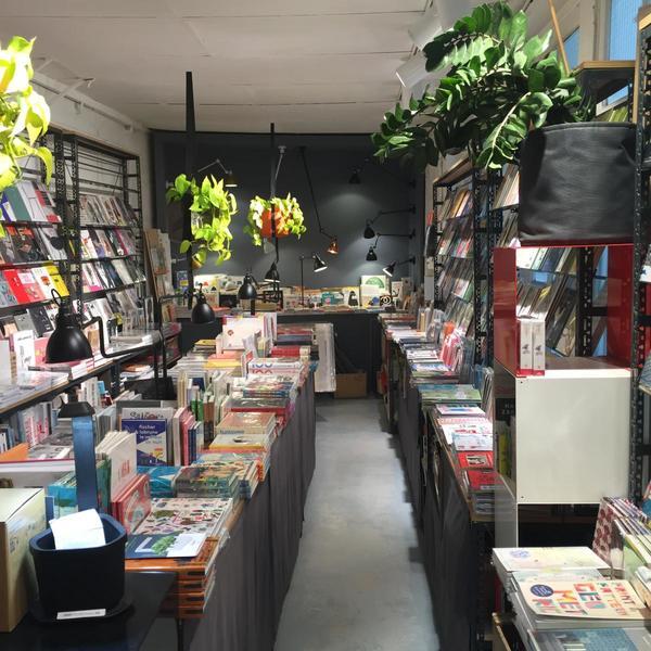 Prise de vue de la librairie Artazart à paris