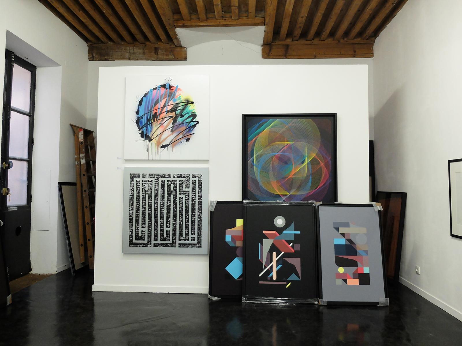 Intérieur de la Gallery SLIKA à Lyon