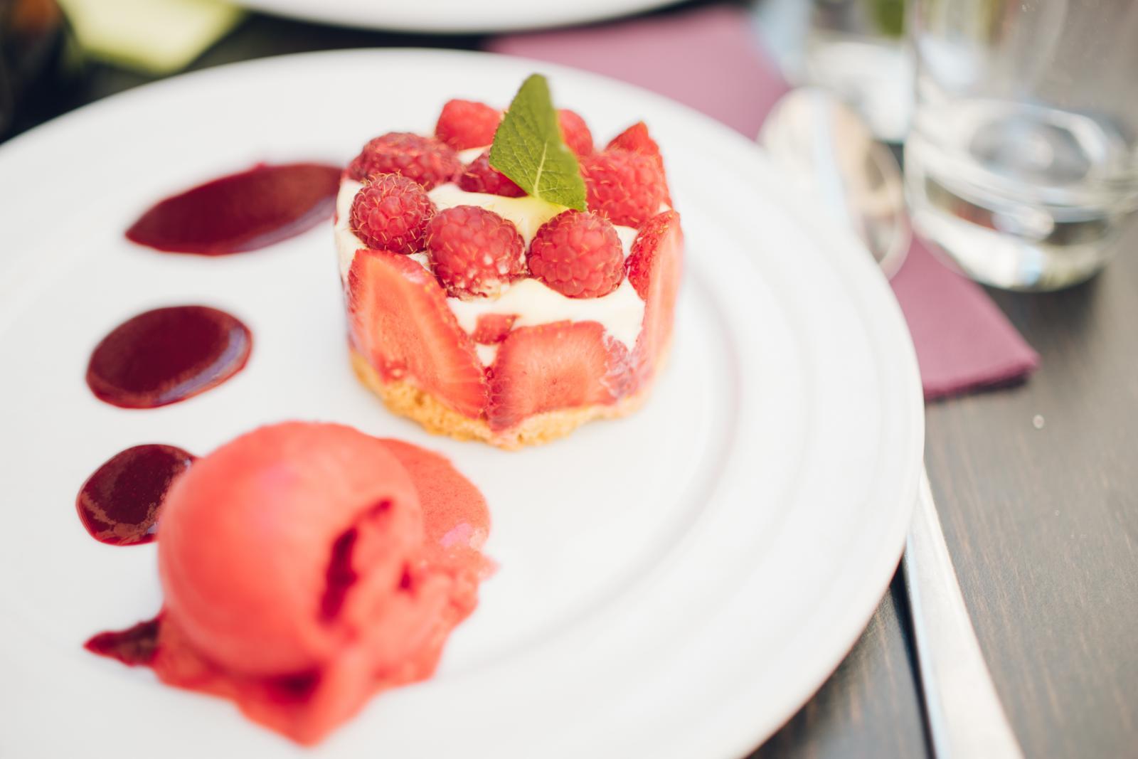 Dessert du restaurant Le café Bizarre à Nîmes
