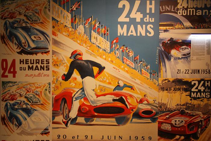 Prise de vue de l'affiche du Musée des 24 heures du Mans