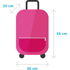 taille bagages autoris s valise suppl mentaire ouigo. Black Bedroom Furniture Sets. Home Design Ideas
