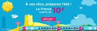 À vos clics, préparez l'été ! La France à partir de 10€