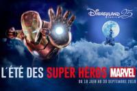 Venez fêter L'été des Super Héros Marvel à Disneyland®Paris avec OUIGO !