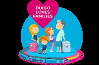 OUIGO Loves Families : du 26/06 au 12/07, partez en famille à partir de 48€ ! Et toujours 8€ garantis pour les enfants !